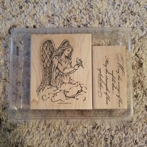 Stampin Up Elegant Angel Stamp Set